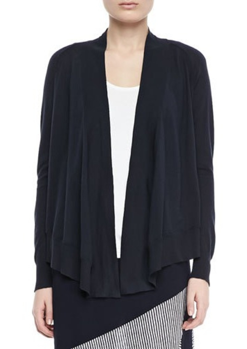Isda & Co Open-Front Cotton Cardigan, Women's