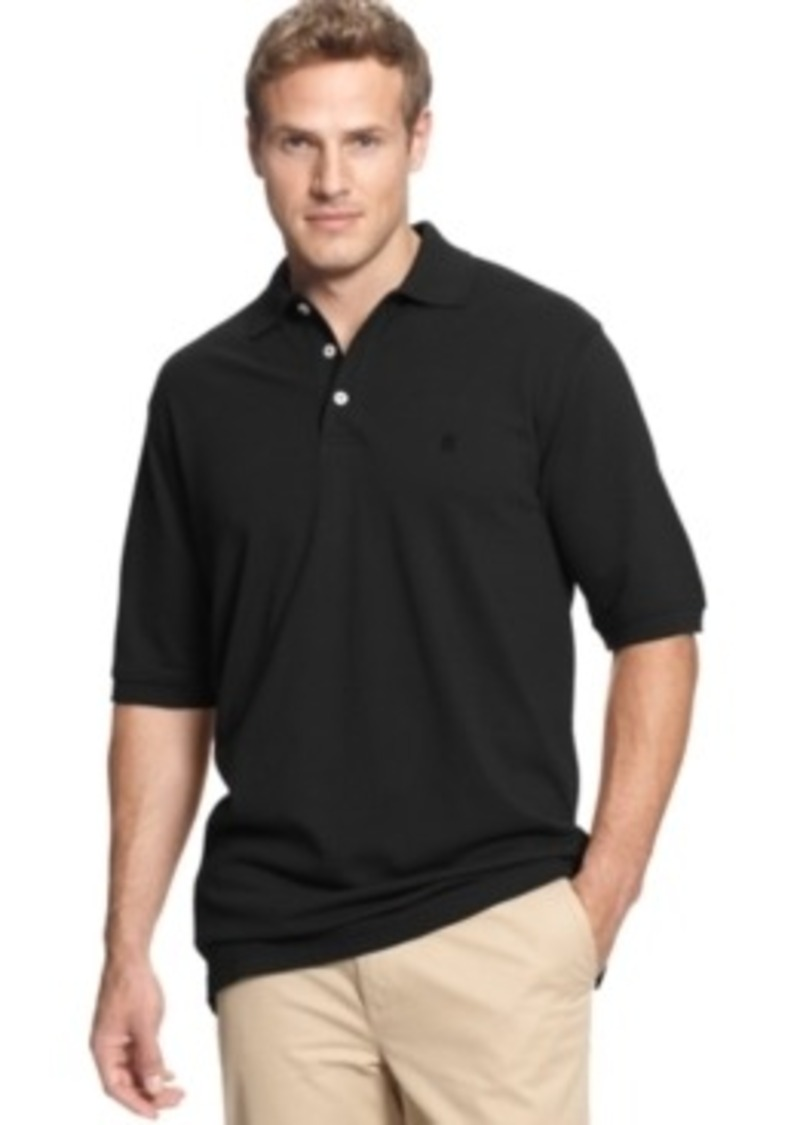 Izod Izod Big And Tall Short Sleeve Pique Polo Casual