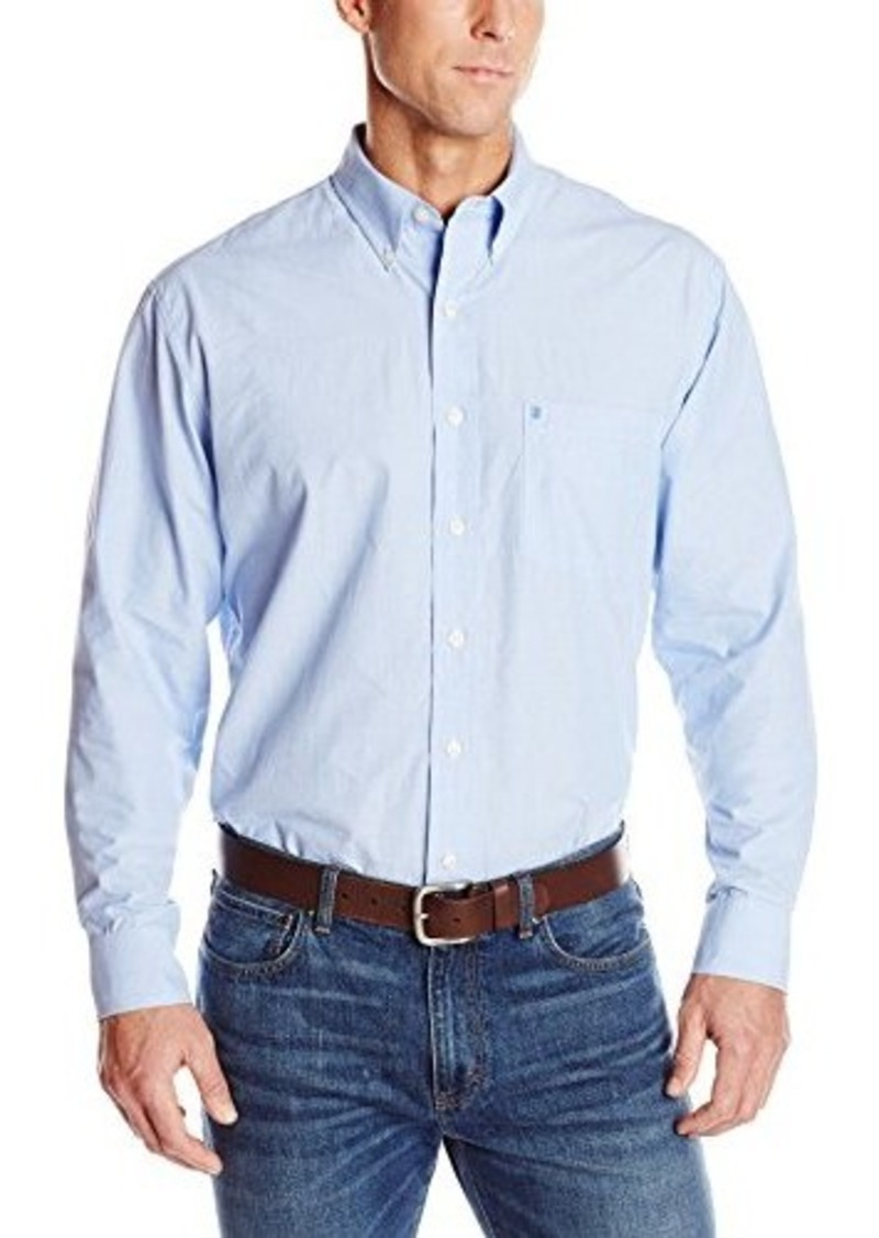 Izod izod men 39 s big tall long sleeve solid essential woven for Big and tall casual shirts