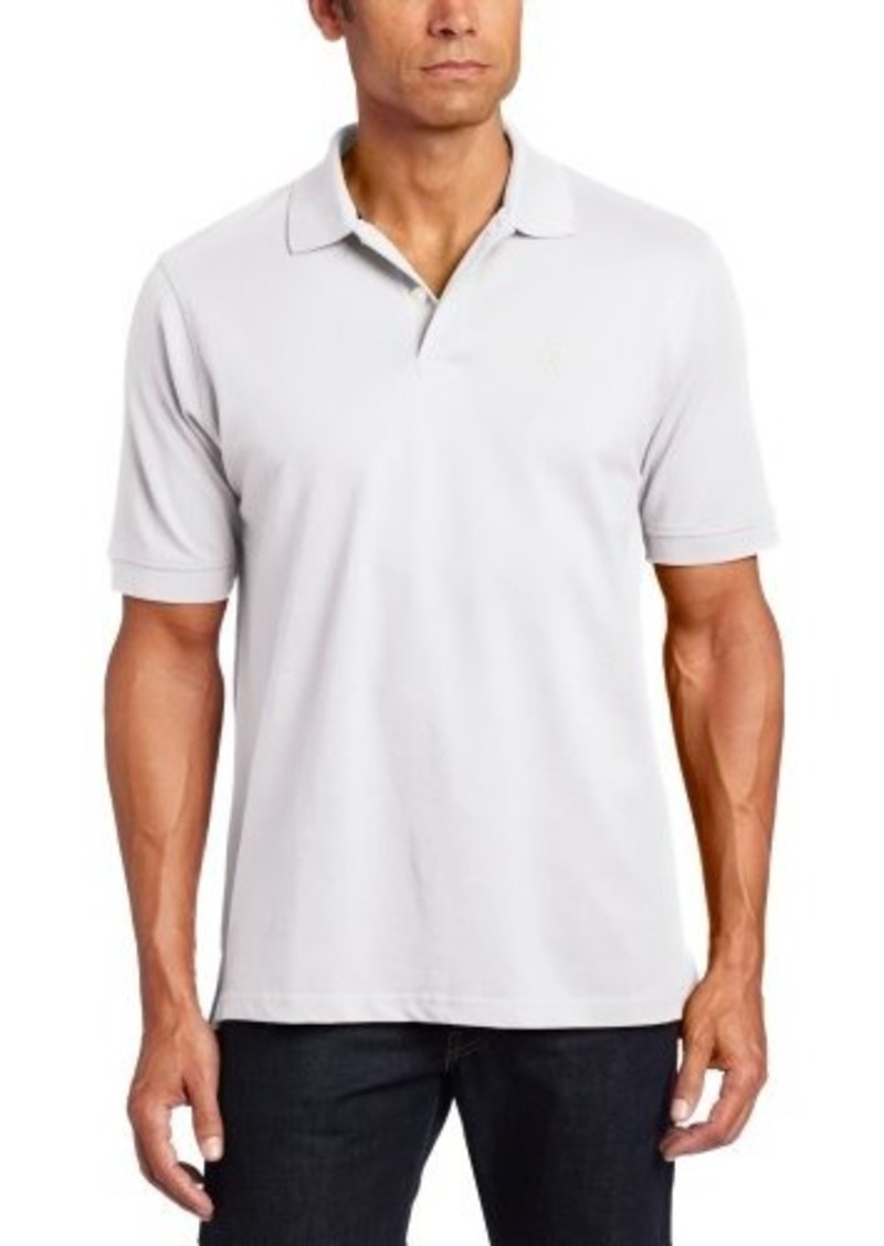 Izod izod men 39 s big tall short sleeve basic heritage for Big and tall polo shirts on sale