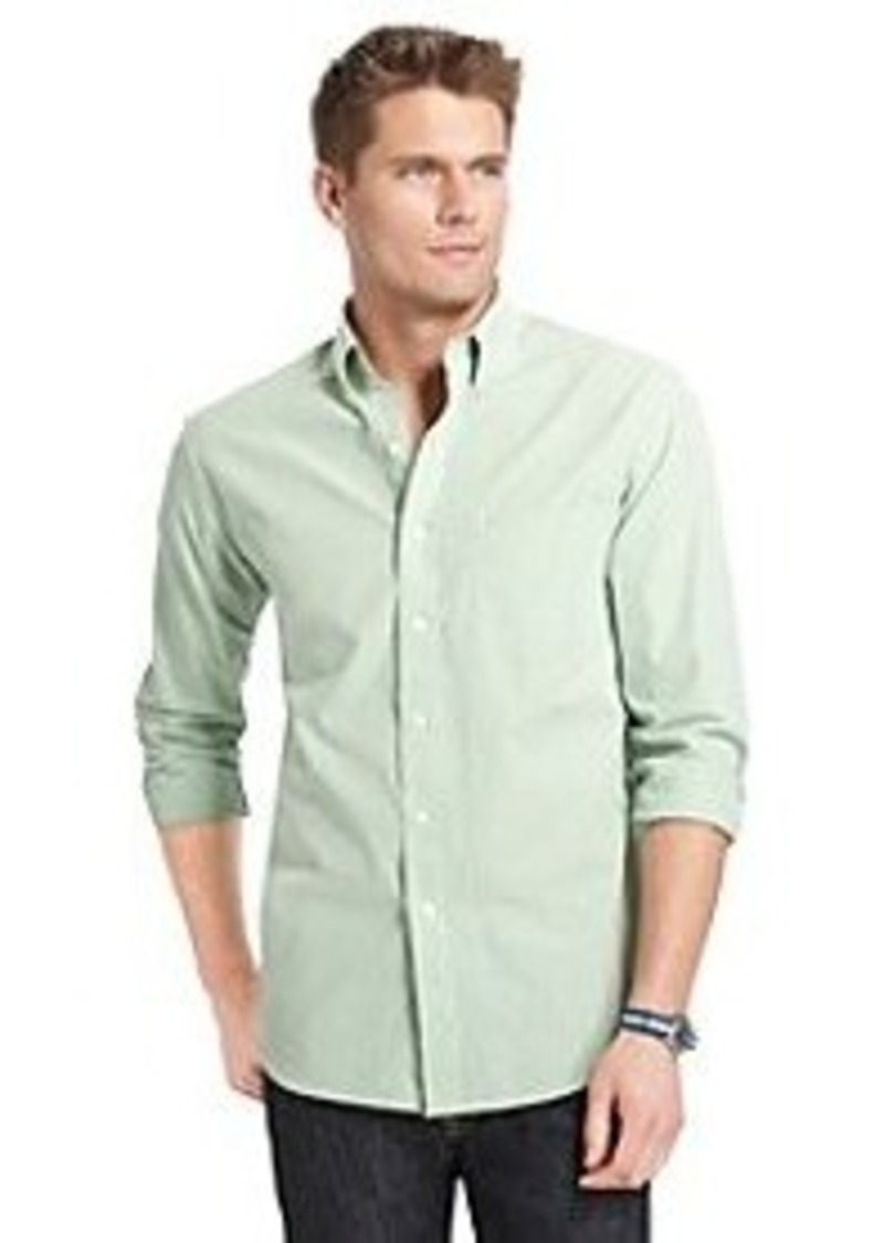 Izod izod men 39 s long sleeve essential checkered button for Izod button down shirts