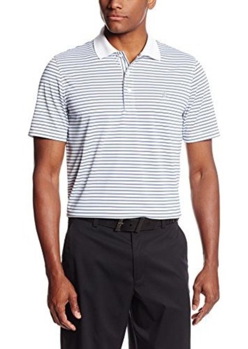 Izod Izod Men 39 S Short Sleeve Feeder Stripe Golf Polo Shirt