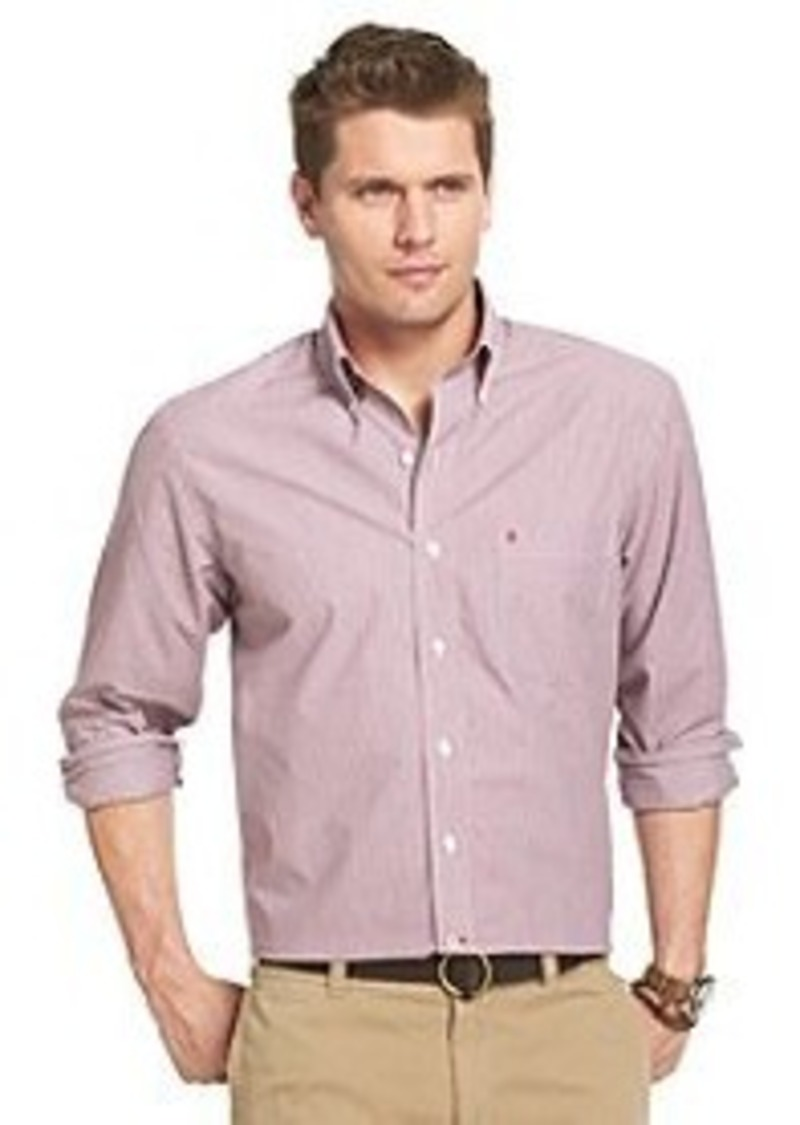 Izod izod men 39 s stripe button down casual shirts shop for Izod button down shirts