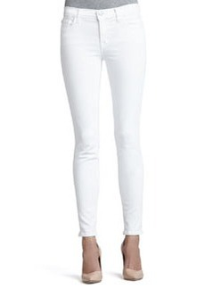 811 Blanc Mid-Rise Skinny Jeans   811 Blanc Mid-Rise Skinny Jeans