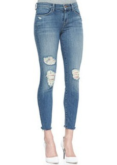 8226 Destructed Fury Cropped Mid-Rise Jeans   8226 Destructed Fury Cropped Mid-Rise Jeans