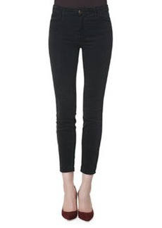 Alana Darkest Gray High-Rise Cropped Jeans   Alana Darkest Gray High-Rise Cropped Jeans