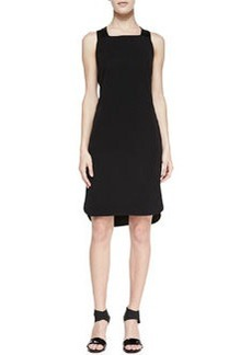 Antonina Racerback High-Low Dress, Black   Antonina Racerback High-Low Dress, Black