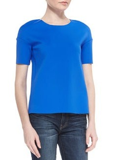 Auden Short-Sleeve Knit Top   Auden Short-Sleeve Knit Top