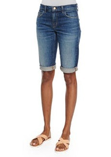 Beau Stretch Bermuda Shorts, Rebound   Beau Stretch Bermuda Shorts, Rebound