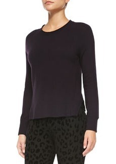 Cashmere Eugenia Crewneck Sweater   Cashmere Eugenia Crewneck Sweater