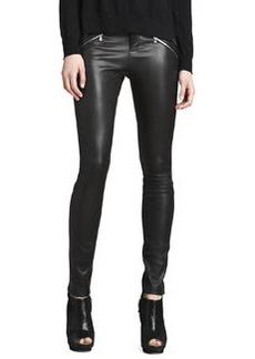 Claudette Leather Pants, Black   Claudette Leather Pants, Black