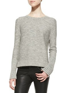 Helms Knit Bateau-Neck Sweater   Helms Knit Bateau-Neck Sweater