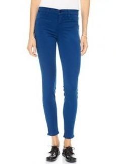 J Brand 485 Mid Rise Super Skinny Jeans