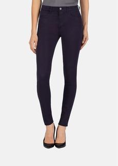 J Brand '485' Mid Rise Super Skinny Jeans (Blackberry)