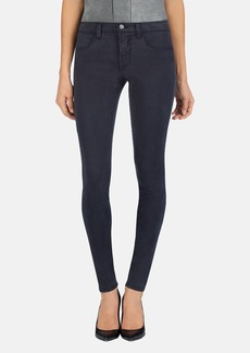 J Brand '485' Mid Rise Super Skinny Jeans (Chrome)