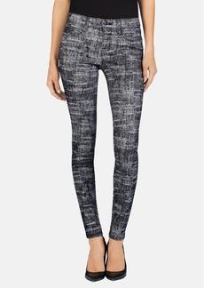 J Brand '620' Mid Rise Skinny Jeans (Fog Static Print)