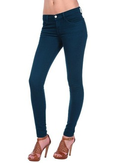 J Brand 620 Super Skinny in Lust Teal
