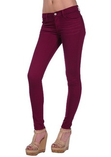 J Brand 620 Super Skinny in Washed Loganberry