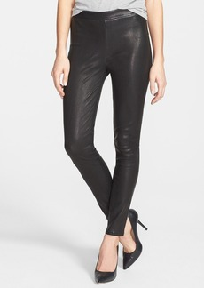 J Brand '8007' Genuine Leather Leggings