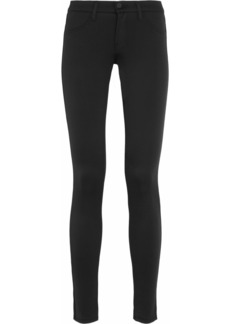 J Brand 801 Scuba neoprene leggings-style jeans