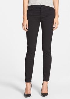 J Brand '811' Mid Rise Skinny Jeans (Black) (Nordstrom Exclusive)