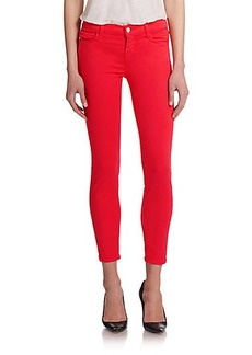 J Brand 9227 Photo Ready Low-Rise Cropped Skinny Jeans