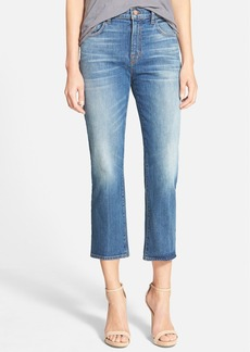 J Brand 'Adele' High Rise Crop Bootcut Jeans (Rival)