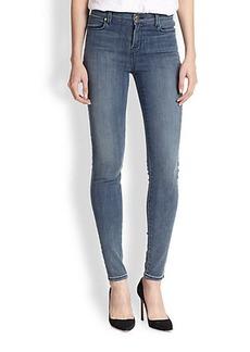 J Brand Alana High-Rise Ankle Crop Jeans