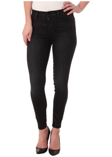 J Brand Alana High Rise Crop in Black Elixir/Coated