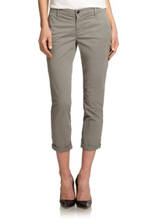 J Brand Alex Stretch-Twill Slim Chinos