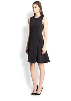 J Brand Alexa Scuba Fit-&-Flare Dress
