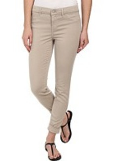 J Brand Anja Cuffed Sateen Crop in Concrete Dust