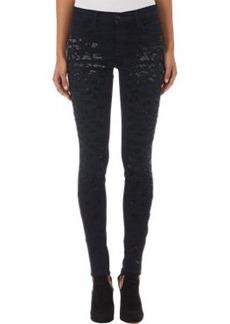J Brand Beaded Claudette Jeans