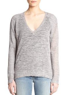 J Brand Berendo V-Neck Long-Sleeve Sweater