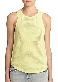 J Brand Candice Sweater Tank Top