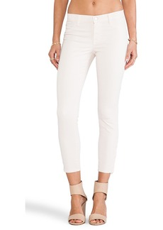 J Brand Capri Zip in Rose Blush