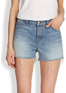 J Brand Carly High-Rise Cutoff Shorts