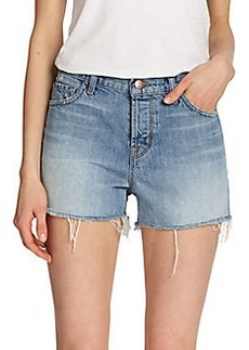 J Brand Carly High-Rise Cutoff Shorts
