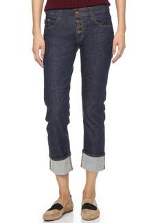 J Brand Cora Cuffed Crop Jeans