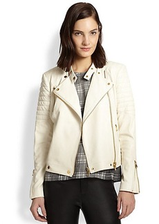 J Brand Crista Leather Motorcycle Jacket