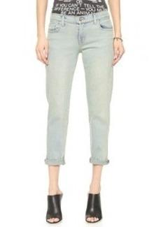 J Brand Cropped Ellis Jeans