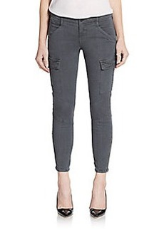 J Brand Cropped Skinny Cargo Pants