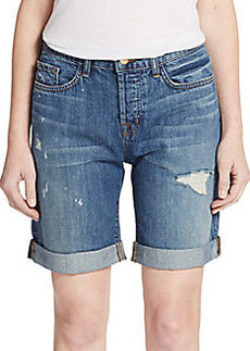J Brand Dani Distressed Shorts