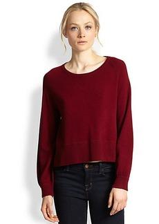 J Brand Dauphine Boxy Cashmere Sweater