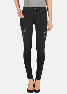 J Brand 'Dee' Zip Detail Skinny Jeans (Gravity)