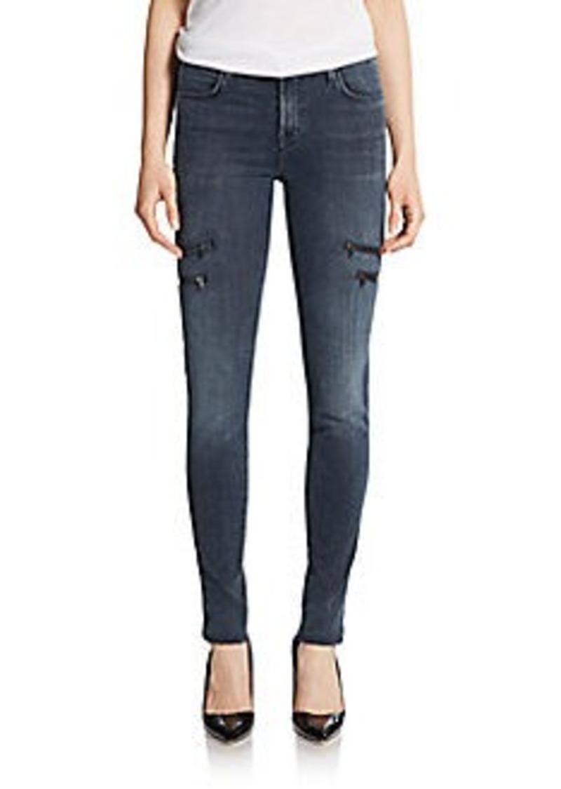 j brand j brand dee zip pocket skinny jeans sizes 25r 29r 30r and 24r shop it to me all. Black Bedroom Furniture Sets. Home Design Ideas