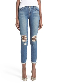 J Brand Destroyed Skinny Capri Jeans (Breathless)