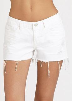 J Brand Distressed Cut-Off Shorts