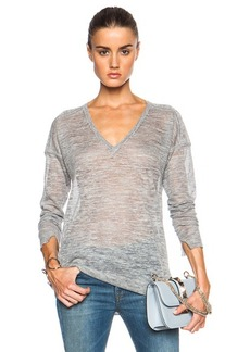 """J Brand <div class=""""product_name"""">Bernardo V-Neck Sweater</div>"""
