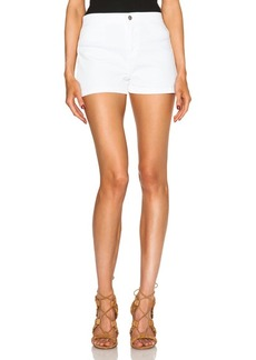 J Brand High Rise Tailored Shorts